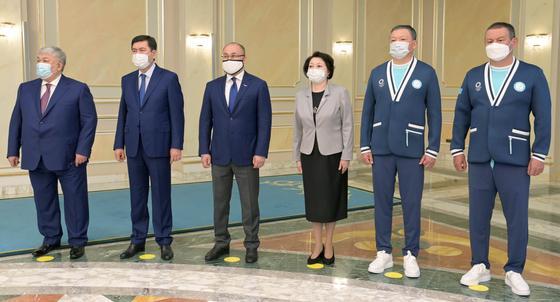 На встрече президента с олимпийский сборной