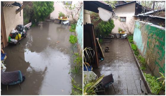 Улицы Алматы затопило после дождя (фото, видео)