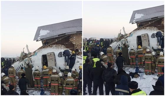 Пилот разбившегося самолета скончался, сообщил блогер