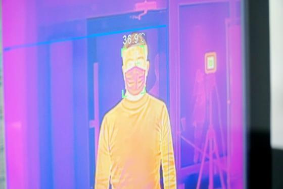 В поликлиниках Нур-Султана установили тепловизоры для проверки на признаки коронавируса