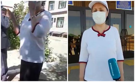 """""""Вы распорядились закрыть дороги?"""": Гульшара Абдыкаликова ответила на видео в Сети"""