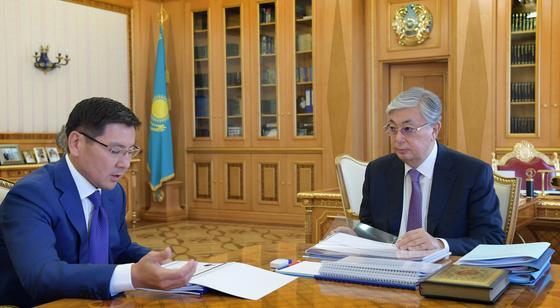 Токаев дал поручения Аскару Жумагалиеву