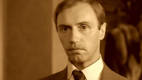 Актер Борис Плотников в молодости
