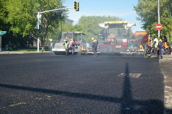 Дорожные работы завершены на 55 улицах Нур-Султана