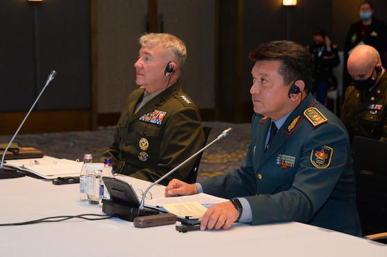 Начальники Генеральных штабов во время встречи в Нур-Султане