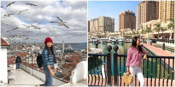 Казахстанка устроилась в Qatar Airways и живет в самой богатой стране мира