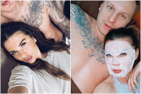 Седокова выложила «обнаженку» со своим парнем в ванной