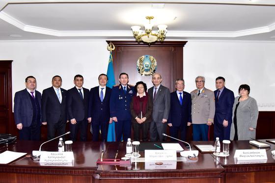 Касымов похвалил работу общественного совета при МВД
