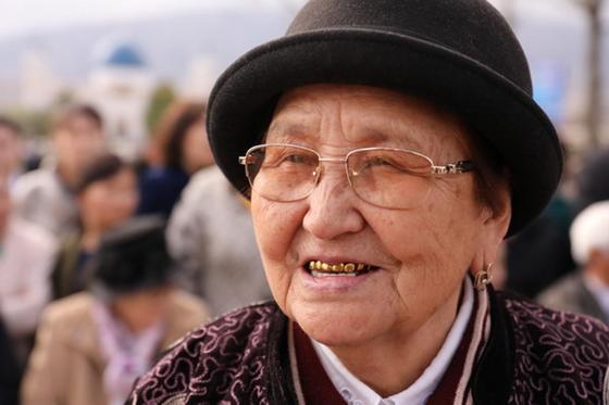 Назарбаев встретился с земляками в Шамалгане