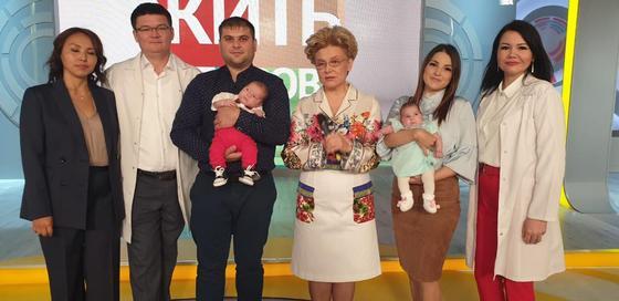 Первый канал расскажет об уникальных родах в Казахстане