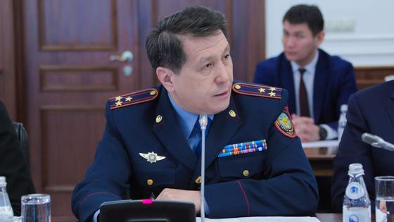 Жанат Сулейменов освобожден от должности первого заместителя МВД