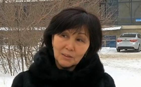 Нұрбибі Есмағанбетова. Фото: КТК арнасы