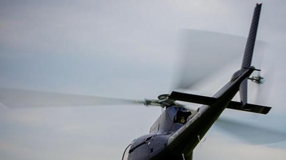 Военный вертолет рухнул в Стамбуле