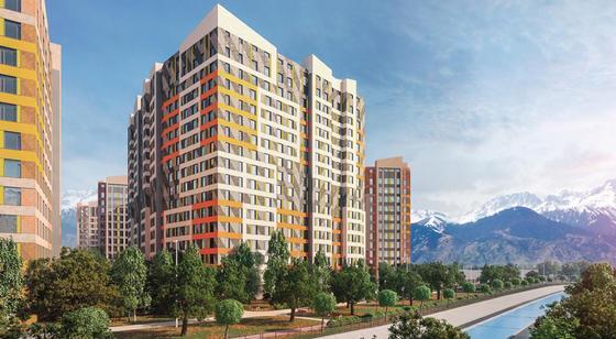 Алматинской Ривьере быть: ЖК у реки строят в Алматы