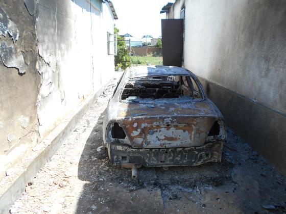 Как выглядит Арысь спустя сутки после взрывов