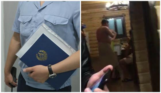 Антикоррупционщики отдыхали в бане в Кокшетау: видео прокомментировали в полиции