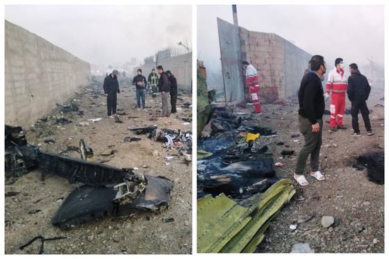 Крушение украинского лайнера подтвердили в аэропорту Тегерана