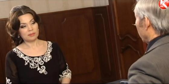 "Нұрғали Нүсіпжанов, Жадыра Сейдеш. Фото: ""Жүрекжарды"" бағдарламасынан кадр."