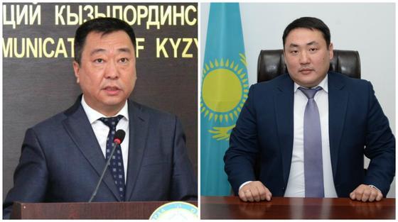 Мурат Имандосов и Марат Дельмуханов сидят за рабочими столами