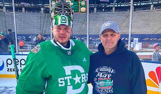 Уроженец Усть-Каменогорска стал одним из лучших вратарей НХЛ