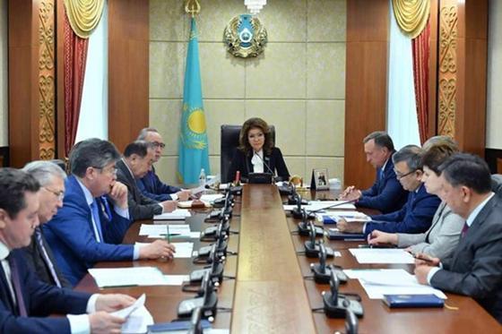 Дарига Назарбаева приступила к своим новым обязанностям