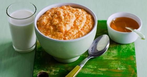 Пшенная каша с тыквой на молоке: калорийность, рецепт