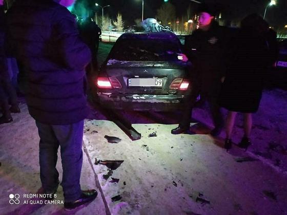 Протаранивший семь машин водитель лишен прав на полгода в Караганде