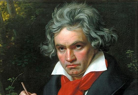 Портрет Бетховена Карла Штилера