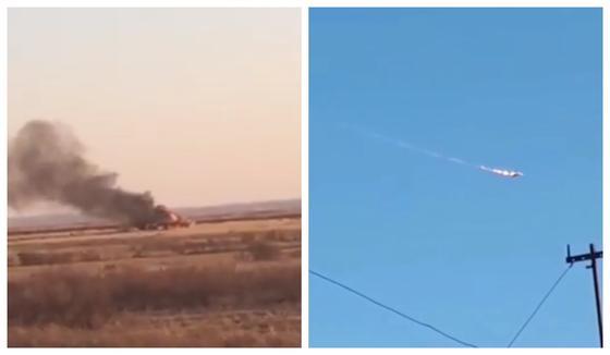 Самолету 29 лет: что известно об упавшем близ Караганды МИГ-31