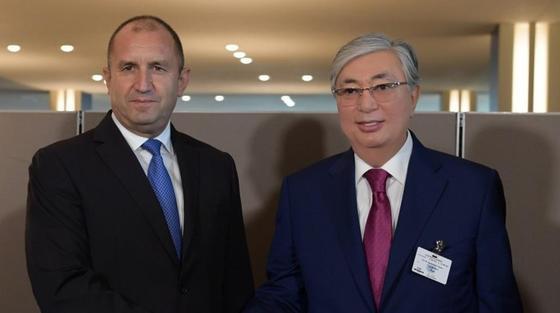 Токаев встретился с президентом Болгарии