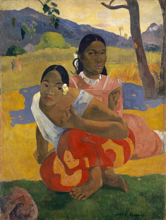 Картина Гогена «Когда свадьба?»