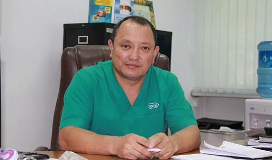 Минздрав и акимат не призывал на помощь хирурга из Кыргызстана