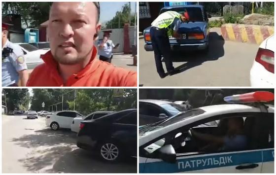 "Шымкентский активист Руслан Жанпеисов показал ""бардак"" в Алматы и Талгаре (видео)"