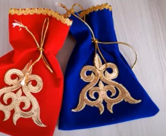 Мешочки для подарков в национальном стиле
