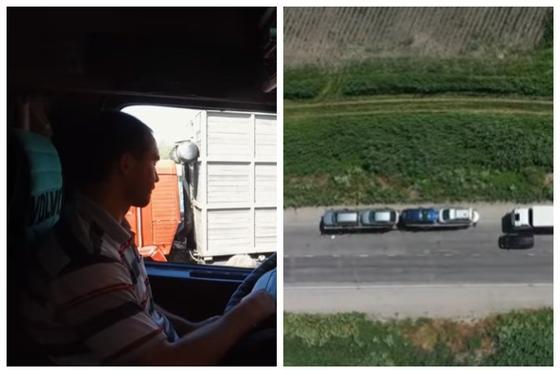 Жүздеген жүк көлігі Қазақстан мен Қырғызстан шекарасында тұрып қалды (видео)