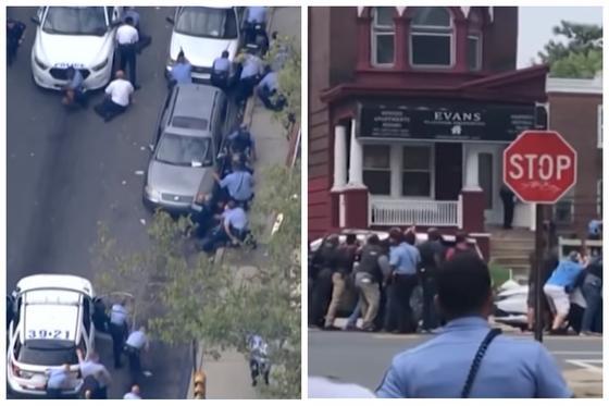 6 полицейских пострадали в результате крупной перестрелки в Филадельфии (видео)