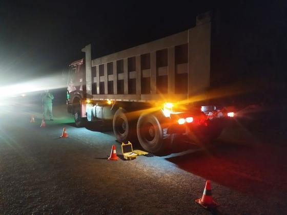 На 6 млн тенге оштрафовали водителей в Карагандинской области за перегруз