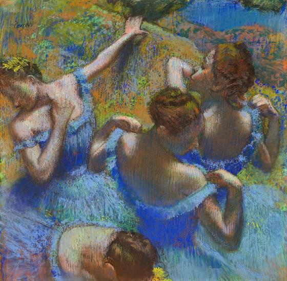 «Голубые танцовщицы» (Эдгар Дега)