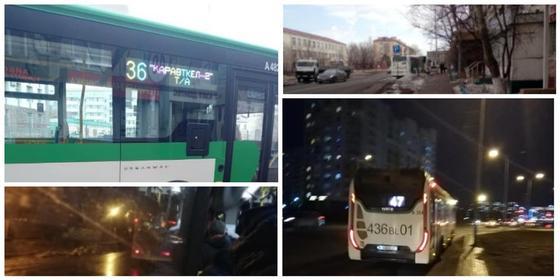После трагедии в столице жители Нур-Султана буйствуют из-за халатной работы водителей автобусов (видео)