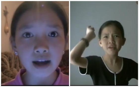 Байзакова с детства считает себя самой крутой девочкой (видео)
