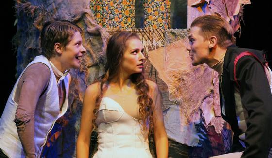 Глафира Тарханова в театре