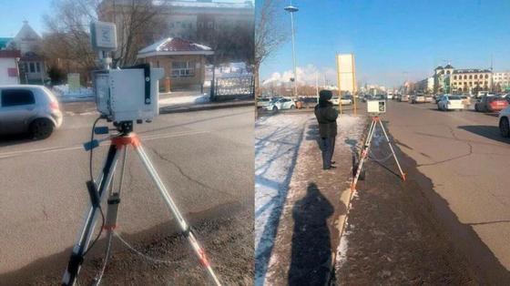 Фотографии радара «Крис-П» в Астане не на шутку встревожили водителей