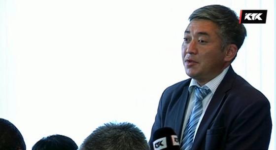 Акан Койшибаев. Кадр из видео: КТК