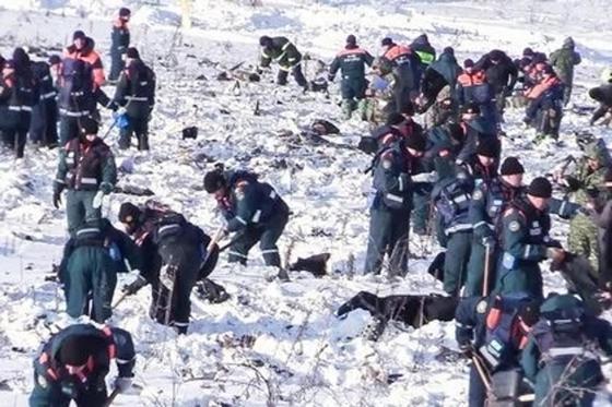 Авиакатастрофа под Москвой: на месте крушения Ан-148 найдено 10 тыс. фрагментов тел