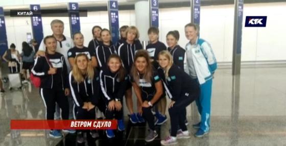 «Было жутко»: Казахстанские спортсменки едва спаслись от тайфуна «Мангхут»