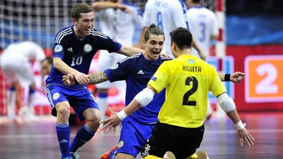 Евро-2018 по футзалу: Казахстан проиграл России