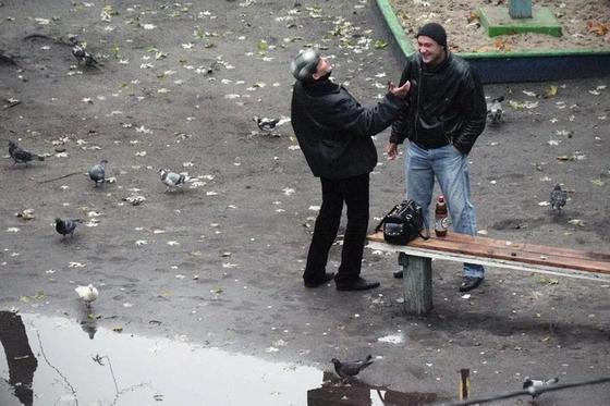 Фотограф четыре года снимал, что происходит на лавочке
