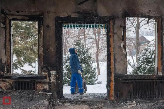 """""""Иного смысла жить нет"""": Вековой храм сгорел в Алматинской области"""
