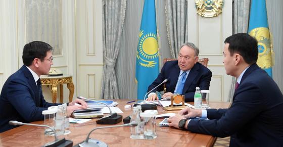 Назарбаевтың Жұмағалиевпен кездесуі. фото: Ақорда