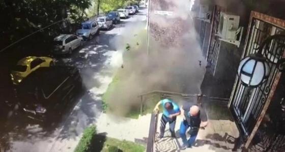 Взрыв прогремел в центре Бишкека (видео)
